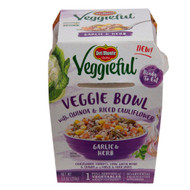 Del Monte(R) Veggieful(TM) Garlic & Herb Veggie Bowl with Quinoa & Riced Cauliflower 12/7.4 oz. Bowl
