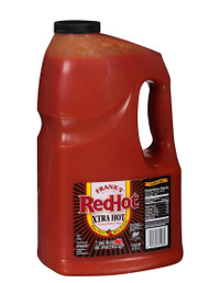 Frank's Redhot Extra Hot Cayenne Pepper Sauce, 1 Gallon - 4 per Case