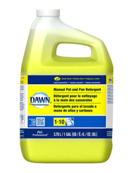 Dawn Professional Manual Pot/Pan Dish Detergent, Lemon, 4/Carton, Free Shipping