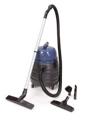 Powr-Flite Wet/Dry vacuum 5 Gallon with Tool Kit - Polyethylene Body Free Shipping