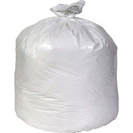 COASTWIDE 33 GALLON 0.74 MIL WHITE 33 X 39LINEAR LOW DENSITY FLAT PACK CAN LINERS 150/CT, FREE SHIPPING