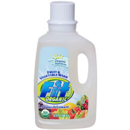 Fit Fruit & Vegetable Fit Produce Wash Refill, 12/32oz, Free Shipping