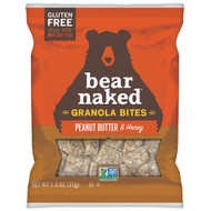 Bear Naked Peanut Butter And Honey Granola Bites, 1.3 Ounces Per Pack 50/1.3oz, Free Shipping