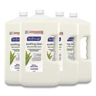 SoftSoap Liquid Hand Soap Refill with Aloe, Aloe Vera Fresh Scent, 1 gal Refill Bottle, 4/Carton,  Free Shipping