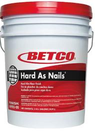 Betco Hard As Nails Floor Finish, 5 Gal