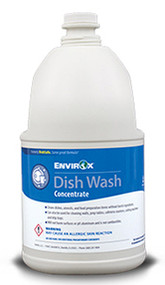 EnvirOx #126 Dish Wash Concentrate (Formerly Dish Safe), 2/Gal Cs Free Shipping