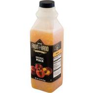 Fruit In Hand Original Peach Pourable Fruit, 35 Ounces - 6 Per Case