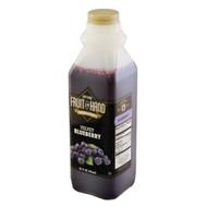 Fruit In Hand Blueberry Velvet Craftsman Fruit Puree, 32 Fluid Ounces, 6 per case