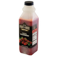 Fruit In Hand Original Strawberry Pourable Fruit, 35 Ounces - 6 Per Case