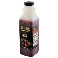 Fruit In Hand Cherry Pourable Fruit Puree, 35 Ounces, 6 per case