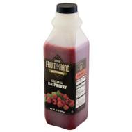 Fruit In Hand Raspberry Pourable Fruit Puree, 35 Ounces, 6 per case