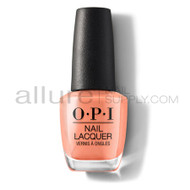 OPI Nail Lacquer - Freedom of Peach - NL W59