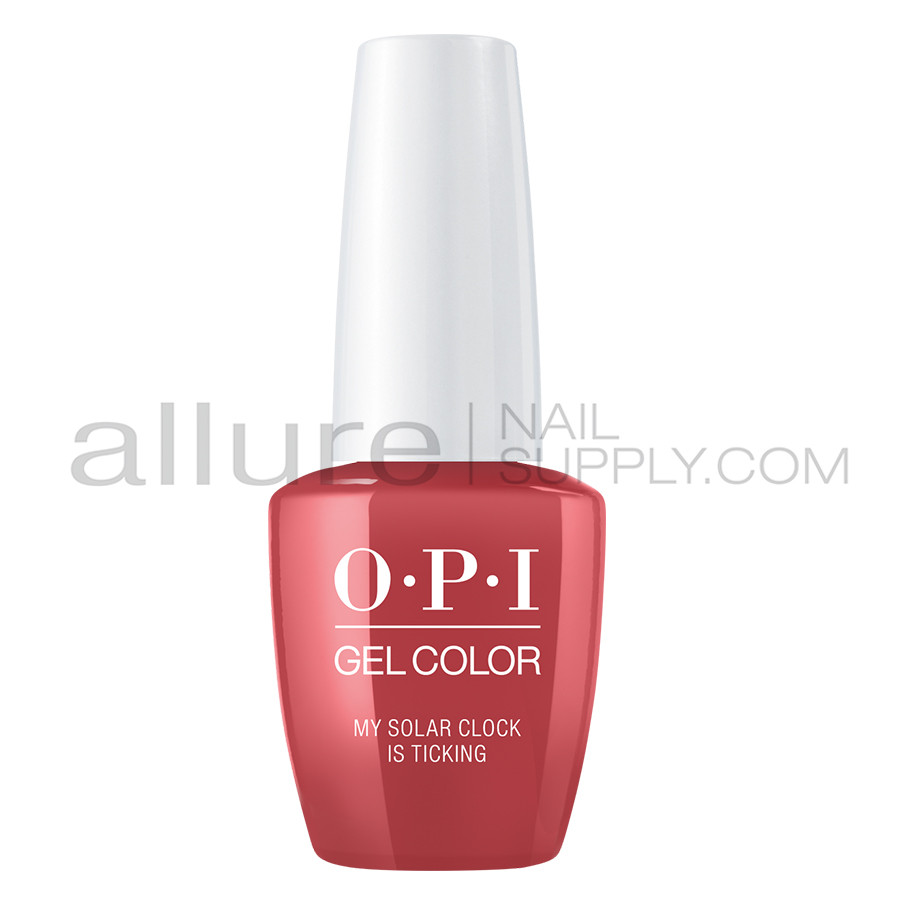OPI Gel Color - My Solar Clock is Ticking - GCP38 - Allure Nail Supply