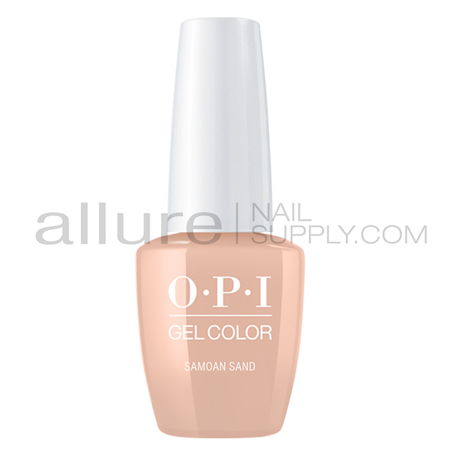 OPI Gel Color - Samoan Sand - GCP61A - Allure Nail Supply