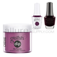 Gelish Trio Set - Plum And Done