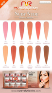 NuRevolution Dip - Nudy Nude Ombre Collection 12pc