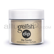 Gelish Dip - Gilded In Gold