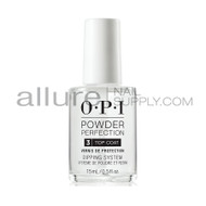 OPI Powder Perfection Liquid - Top Coat (0.5oz)