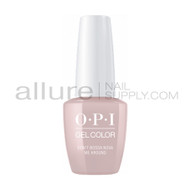 OPI Gel Color - Don't Bossa Nova Me Around  - GCA60