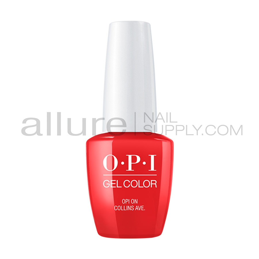 OPI Gel Color - OPI On Collins Ave. - GCB76 - Allure Nail Supply
