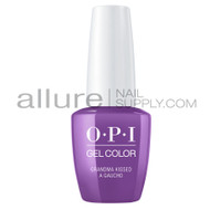 OPI - Peru Collection - Gel Color - Grandma Kissed a Gaucho - GCP35