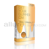 Voesh - Pedi In A Box Glimmer Spa - Golden Glimmer