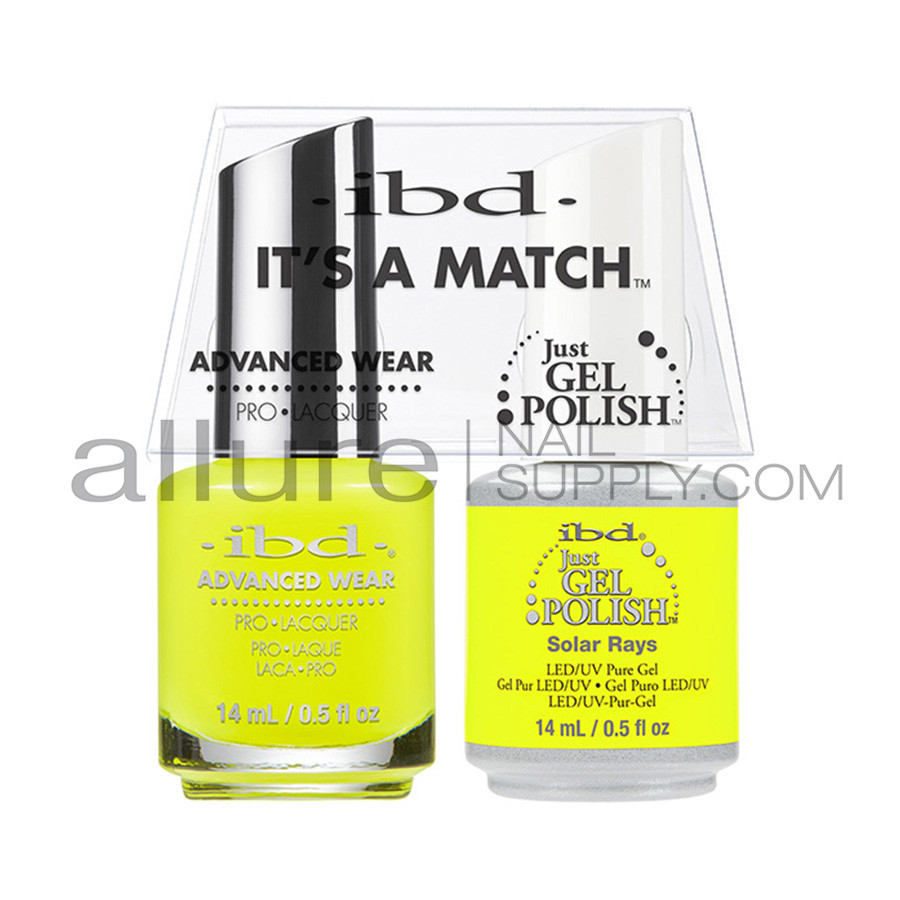 IBD It\'s A Match Advanced Wear Duo - Solar Rays - Allure Nail Supply