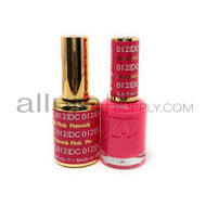 DND DC - Matching Gel and Nail Lacquer - Peacock Pink