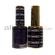 DND DC - Matching Gel and Nail Lacquer - Beet Root