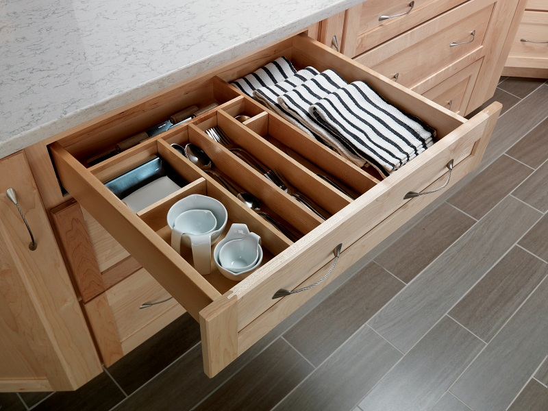 Drawer Organizer Kit ... - Cardell Kitchen Cabinet Accessories