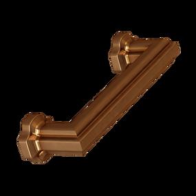 "Brushed Bronze Empire Pull 4"" center pull"