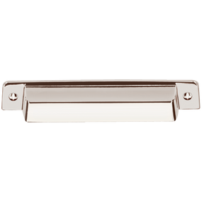 "Fordham Bin Pull - Polished Nickel 7/8"" x 6"""