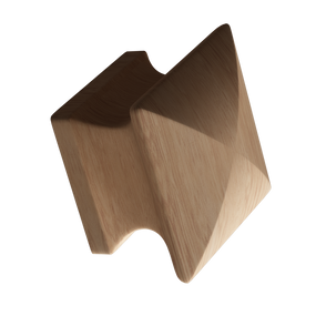 Maple Square Wood Knob