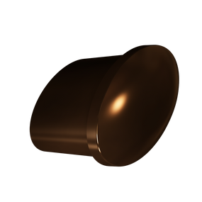 Dark Brushed Bronze Tailored Knob