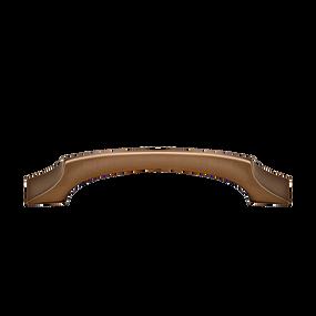 """Tide Bar Pull - Brushed Bronze - 4"""" Center"""