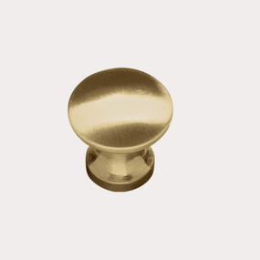 Brushed Brass Tapered Knob