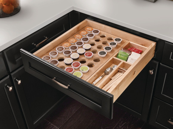 Cardell Kitchen Cabinet Accessories - K-Cup® Drawer ...
