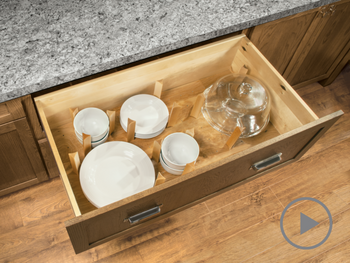 Pegged Drawer Organizer