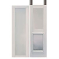 Vinyl Modular Pet Patio Door