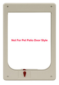 Large Size Plastic Chubby Kat Inside Frame. Also Fits Medium Pet Flap and Hefty Kat Models