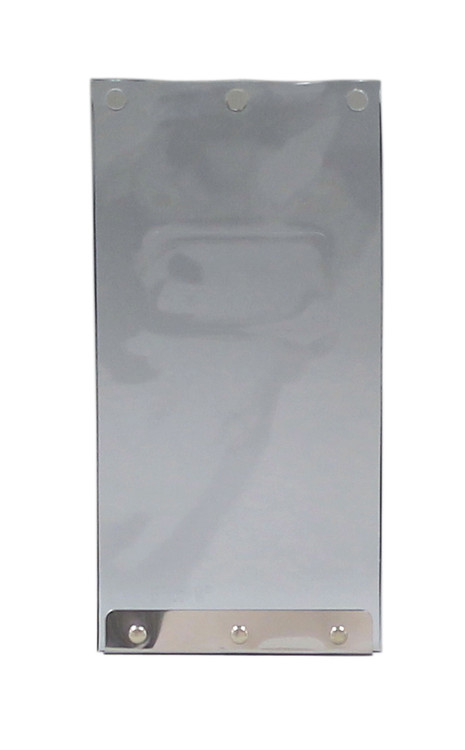 """Small Size 5 X 9-1/4"""" FLAP Has Double Vinyl Flaps Without Side Clips/Plastic Frame."""