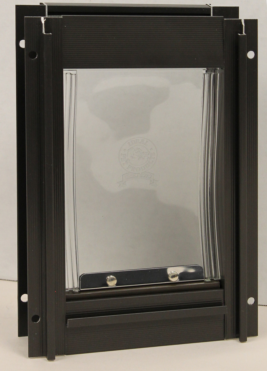 Pet Supplies New In Box A Wide Selection Of Colours And Designs Ideal Pet Products Deluxe Cat Flap