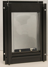 Bronze Deluxe Aluminum Pet Door – FREE SHIPPING!