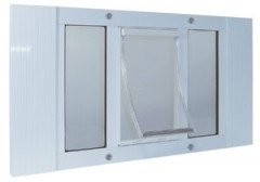 Aluminum Sash Window Pet Door | Ideal Pet Products