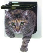 Lockable Cat Flap Door - Ideal Pet Products