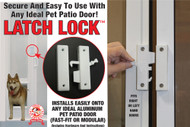 Pet Patio Door Latch-Lock – FREE SHIPPING!