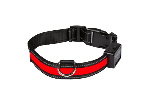 Light Collar Red - USB Rechargable - Eyenimal by Ideal Pet Products