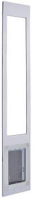 "WHILE SUPPLIES LAST!!! 900 Series™ 96"" Tall ""Double Flap"" Dual Pane Glass Pet Patio Door-Small-White — FREE SHIPPING!"
