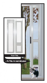"Aluminum Modular Pet Patio Doors ""Great For Balconies""– FREE SHIPPING! (Continental U.S. Only)"