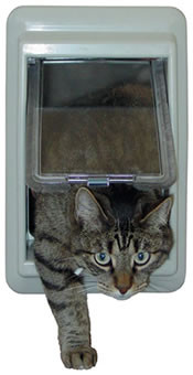 e-Cat™ Electromagnetic Cat Door